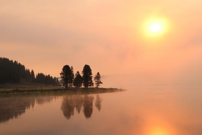 Daybreak at Yellowstone