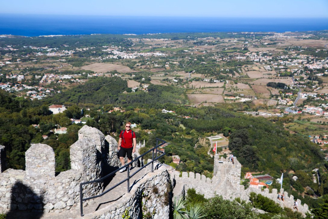 View from Moorish Castle