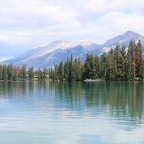 Family Travel: Best Lake to Canoe in Jasper National Park